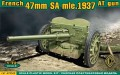 French 47mm SA mle. 1937 Anti-Tank Gun